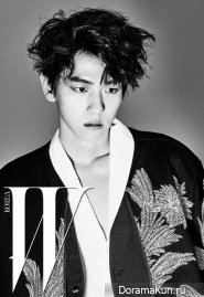 EXO для W Korea July 2016 Extra