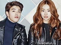 Eric Nam, Stephanie Lee для Oh Boy! 2016
