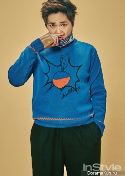 FTISLAND (Hongki) для InStyle January 2016 Extra