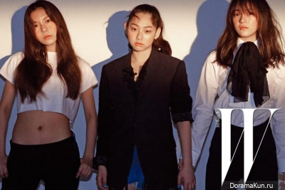 I.O.I (Kim Na Young, Kang Mina, Kim Se Jeong) для W Korea May 2016