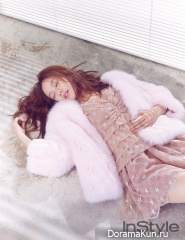 Jo Yoon Hee для InStyle January 2016 Extra