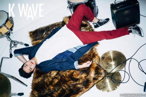 Jung Joon Young для K Wave March 2016