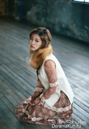 Jung So Min для InStyle Korea December 2015 Extra