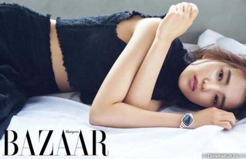 Kim Tae Ri для Harper's Bazaar July 2016