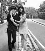 Kim Woo Bin, Xiao Wen Ju для Calvin Klein 2016 CF