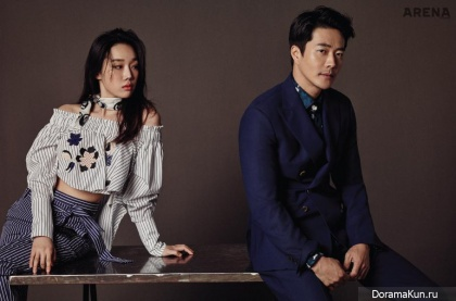 Kwon Sang Woo, Jung Yeon Joo для Arena Homme Plus May 2016