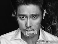 Lee Byung Hun для Dazed Korea January 2016