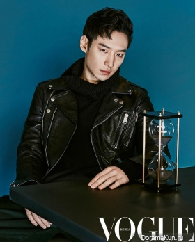 Lee Je Hoon для Vogue Korea January 2016