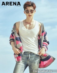 Lee Jong Suk для Arena Homme Plus July 2016