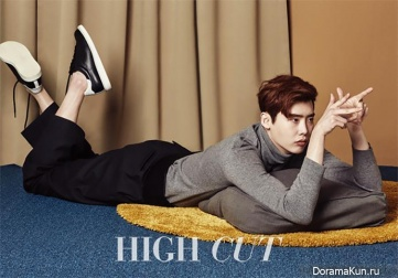 Lee Jong Suk для High Cut Vol. 166