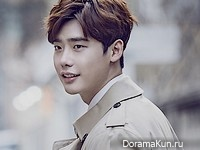 Lee Jong Suk для InStyle March 2016