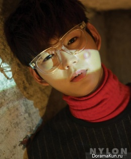 Lee Won Geun для NYLON January 2016 Extra