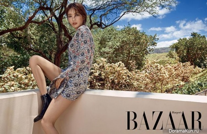 Miss A (Suzy) для Harper's Bazaar July 2016