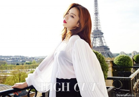 Park Soo Jin для High Cut Vol. 173