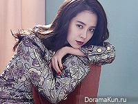 Song Ji Hyo, Lee Sun Gyun для Elle November 2016