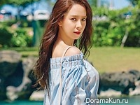 Song Ji Hyo для InStyle July 2016