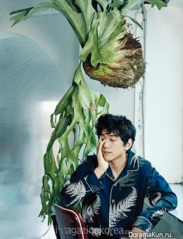 Sung Joon для Harper's Bazaar March 2016 Extra