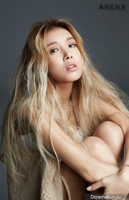 Wonder Girls (Yubin) для Arena Homme Plus December 2015 Extra
