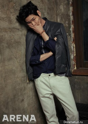 Lee Won Geun, Yoo In Young для Arena Homme Plus April 2016