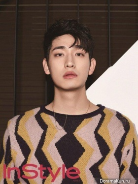 Yoon Park для InStyle February 2016