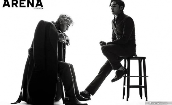 Super Junior Канин и Генри для Arena Homme