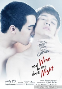 Memorable night - Red Wine in the Dark Night