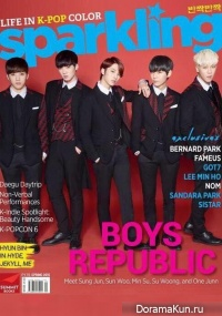 Интервью Boys Republic для Sparklibg Magazine (весна 2015)
