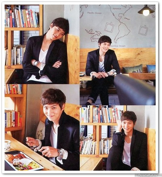 Интервью Joo Won для японского журнала Hot Chili Paper Vol 75 (июнь 2013)