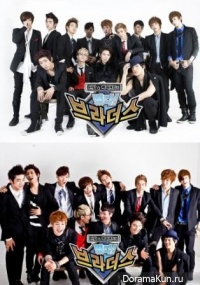 TEEN TOP & 100% - Rising Brothers