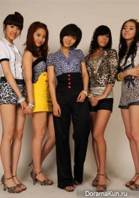 Interview with Wonder Girls
