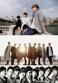 Super Juniors - Boys in Paris