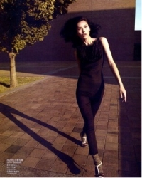 Liu Wen Для Vogue август 2010