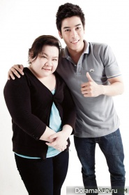 Barry Nadech Kukimiya, Boy Pakorn Chatborirak и др. Для Sudsapda's Huggable Guys, Dec 2011