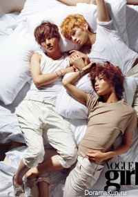 Интервью SHINee для Vogue Girl Magazine (август 2009)