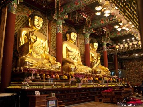 Сеул. Храм Чогеса