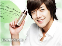 Kim Hyun Joong для The Face Shop