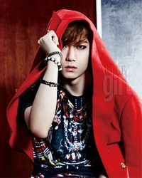 BEAST's Hyunseung для Elle Girl Korea July 2012