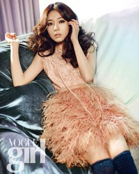 Baek Jin Hee для Vogue Girl Korea February 2012