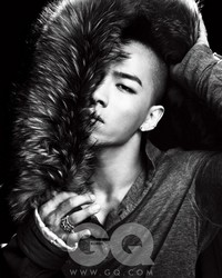 Big Bang's Taeyang для GQ Korea January 2010