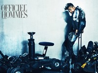 Big Bangs Taeyang для LOfficiel Hommes Korea June 2012