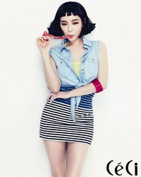Brown Eyed Girls' Ga In для CéCi June 2012