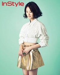 Im Jung Eun для InStyle Korea May 2012