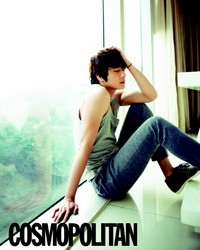 Jung Il Woo для Cosmopolitan Korea April 2011