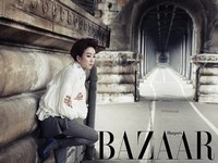 Jung Ryu Won для Harper's Bazaar Korea May 2012
