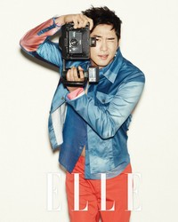 Kang Ji Hwan для Elle Korea June 2012