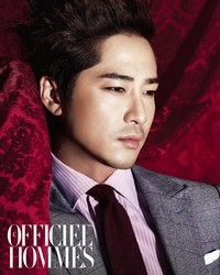 Kang Ji Hwan для L'Officiel Hommes Korea September 2011