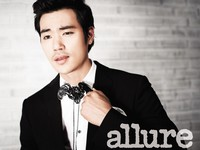 Kim Kang Woo для Allure Korea July 2012