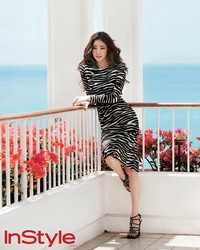 Kim Sa Rang для InStyle Korea July 2012