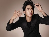 Kim Soo Hyun для Cosmopolitan Korea January 2012