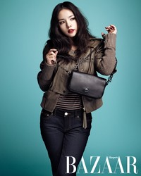 Min Hyo Rin для Harper's Bazaar Korea December 2011